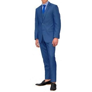 Ferrecci Men's Slim Fit Three Piece Suit (More options available)