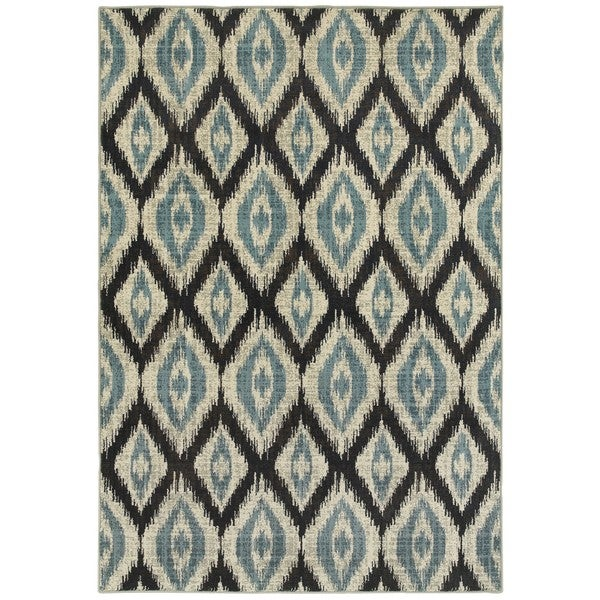 Style Haven Azul Vue Blue/Grey Area Rug