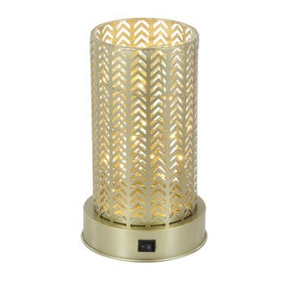 Benzara Jocelyn Metal LED Lantern