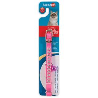 """Petmate 3/8"""" X 8"""" Hot Pink Cat Collar"""