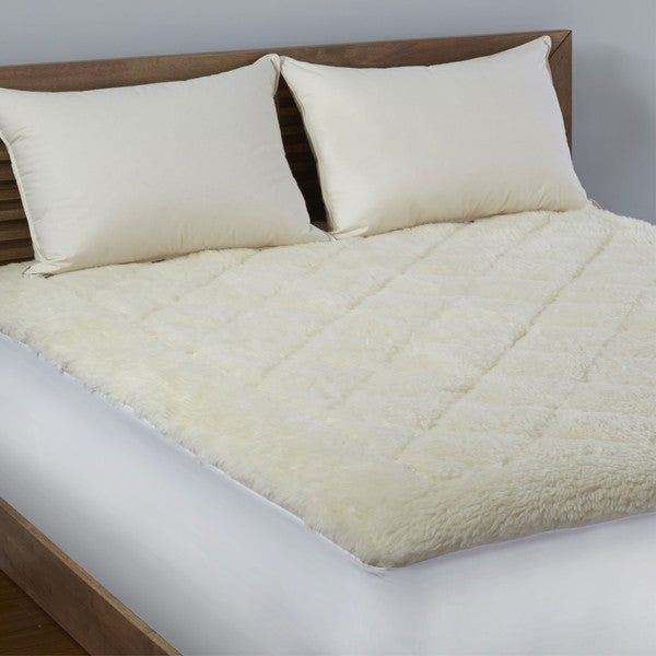 LC Platinum Reversible Wool/ Cotton Mattress Topper