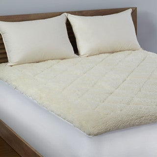 LC Hotel Reversible Wool/ Cotton Mattress Topper