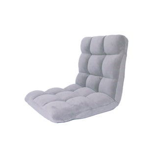 Loungie Microplush Recliner Gaming Chair Adjustable Floor Mat (More options available)