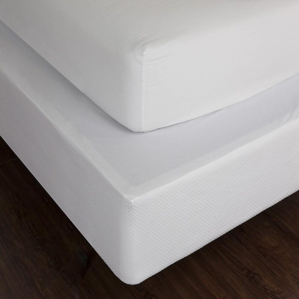 LC Classics 100 Cotton Matelasse Box Spring Cover (Full),...