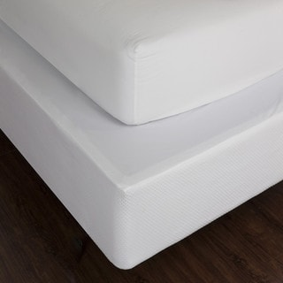 LC Classics 100 Cotton Matelasse Box Spring Cover