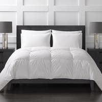 Sharper Image All Season White Down Comforter