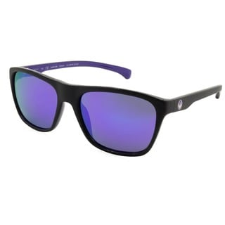 Dragon 506S-12 Black 61 mm Square Sunglasses