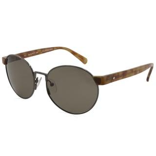 Gant Sun GRS-LESTER-GUN-3P Gunmetal and Tortoise 51 mm Round Sunglasses