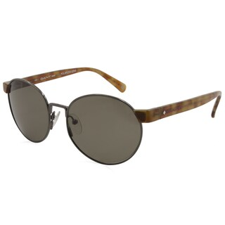 Gant Sun GRS-LESTER-GUN-3P Gunmetal and Tortoise 51 mm Round Sunglasses