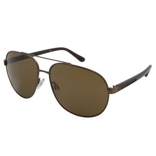 Timberland TB9076-49H Bronze 60 mm Aviator Sunglasses