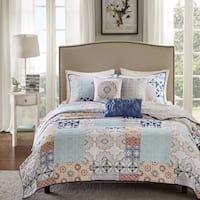Madison Park Sevilla 6 Piece Quilted Coverlet Set