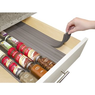 YouCopia SpiceLiner Grey Foam In-drawer Spice Organizers (Set of 3)