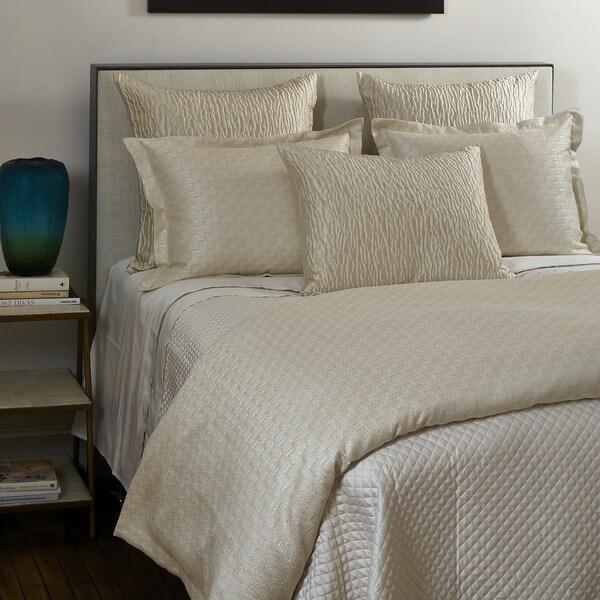 Ann Gish Ivory Glam 3-piece Duvet Set