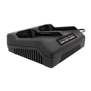 Snow Joe + Sun Joe Dual Port 40V EcoSharp Battery Charger