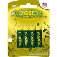 GoGreen AA Super Heavy Duty Batteries - 4 Pack 21001
