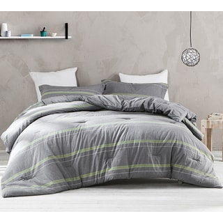 BYB Tungsten Lime Comforter (Shams Not Include)