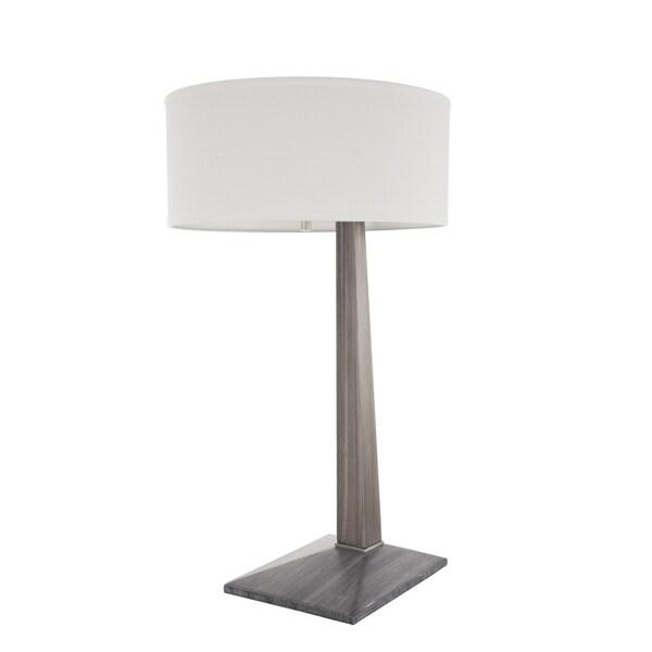 Nova Lighting Ash Grey Tilt Table Lamp