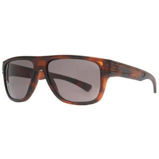 Oakley Men's Breadbox Matte Brown Tortoise Frame/Warm Grey 56mm LensSunglasses
