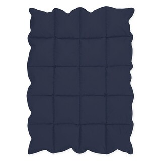 Sweet Jojo Designs Navy Blue Baby Crib Down Alternative Comforter Blanket