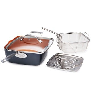 Link to Gotham Steel 9.5 Deep Square Pan Set Similar Items in Cookware