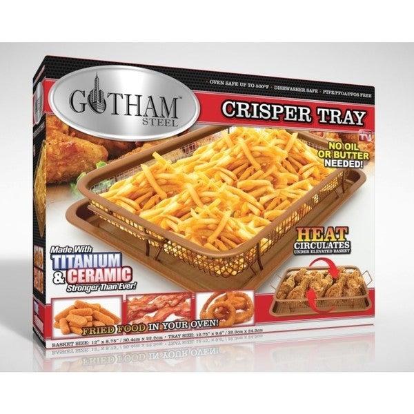 Gotham Ticerama Steel Nonstick Crisper Tray Free
