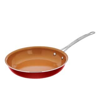 Gotham Steel Red Ti-cerama 10.25-inch Non-stick Frying Pan