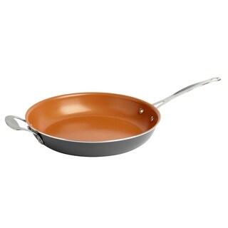 Gotham Steel Grey Ti Cerama 12.5-inch Non-stick Fry Pan
