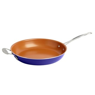 Link to Gotham Steel Ti-Cerama Blue 12.5-inch Non-stick Fry Pan Similar Items in Cookware