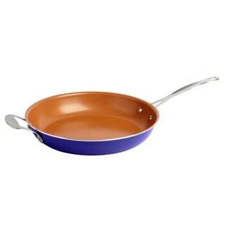 Gotham Steel Ti-Cerama Blue 12.5-inch Non-stick Fry Pan