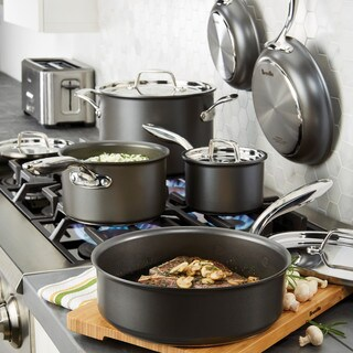 Breville Thermal Pro Hard-anodized Nonstick 10-piece Cookware Set