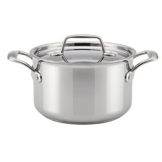 Breville(r) Thermal Pro(tm) Clad Stainless Steel 4-Quart Covered Saucepot