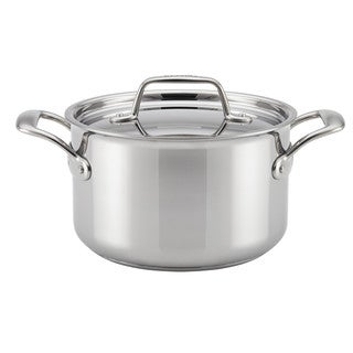 Breville Thermal Pro Clad Stainless Steel 4-quart Covered Saucepot