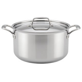 Breville(r) Thermal Pro(tm) Clad Stainless Steel 8-Quart Covered Stockpot
