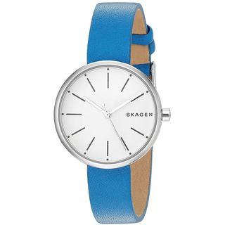 Skagen Women's SKW2597 'Signatur' Blue Leather Watch