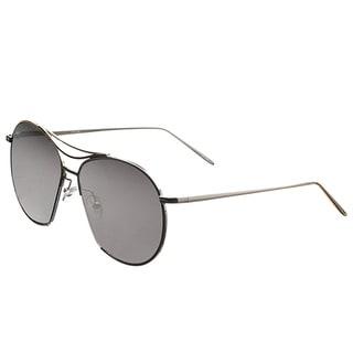 Pop Fashionwear P4106 Restro Unisex 61-millimeter Flat Lens Aviator Sunglasses