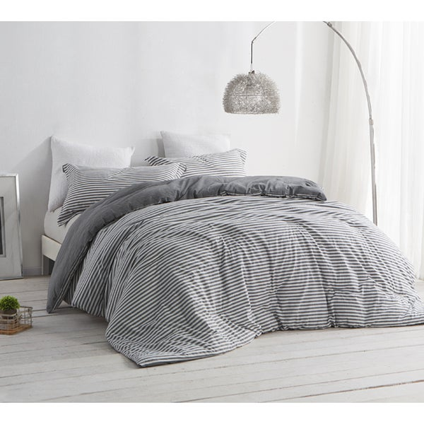 black set ticking of uncategorized style comforter grey sets xfile pict with and bedroom white astonishing size king stripe striped ideas classic gray
