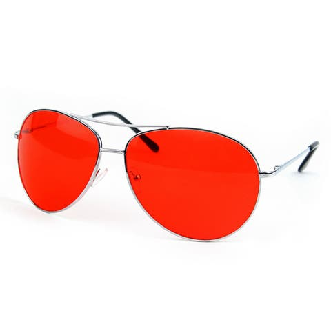 Metal Sunglasses Classic Aviation X-Large Size Spring Hinge P616