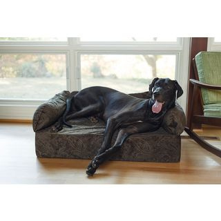 Snoozer Laurel Mocha Memory Foam Premium Pet Sofa