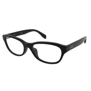 how much are ray ban eyeglass frames  ray ban rx5304d 2000(55) fr black frame 55 mm rectangle