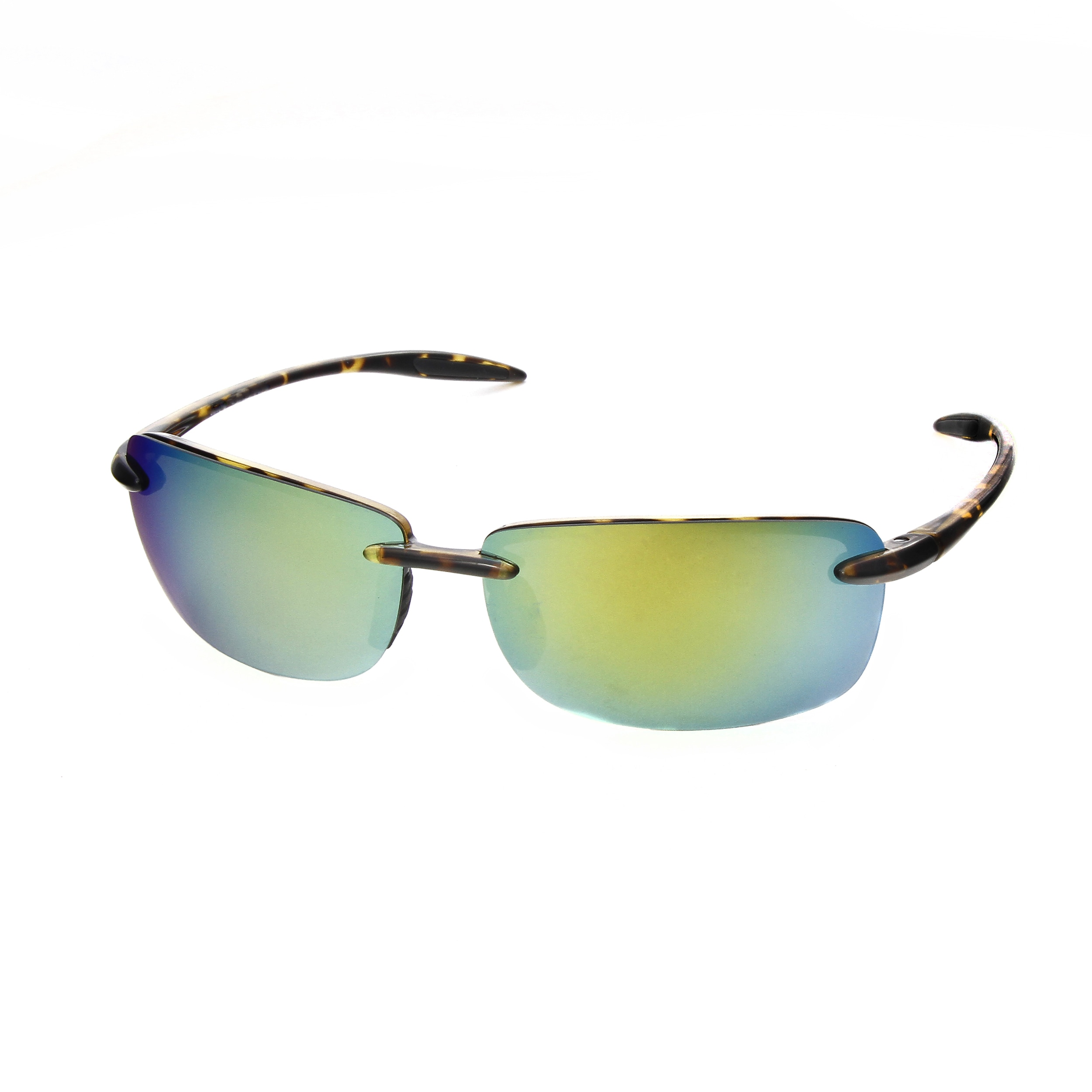 198d1702824 Hot Optix Uni Ultralight Rimless Polarized Mirrored Lens. Optix Eyewear  Johnston Ri ...
