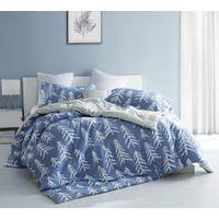 BYB Smoke Blue Nights Scandinavian-Style Tree Print Comforter (Shams Not Included)