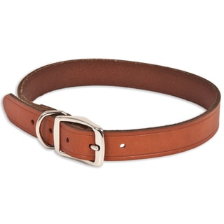 "Petmate 1"" X 24"" Brown Leather Dog Collar"