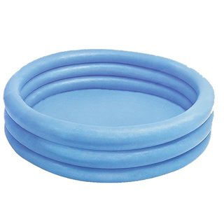 Inflatable Crystal Blue Swimming Kiddie Pool