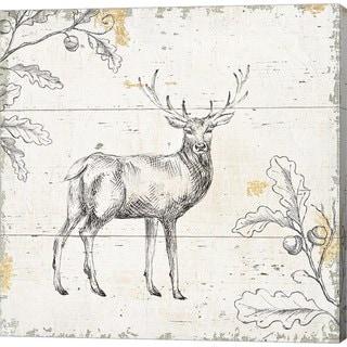 Daphne Brissonnet 'Wild and Beautiful V' Canvas Art