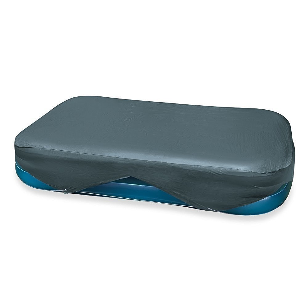 Intex Blue Vinyl Rectangular Pool Cover (Blue)