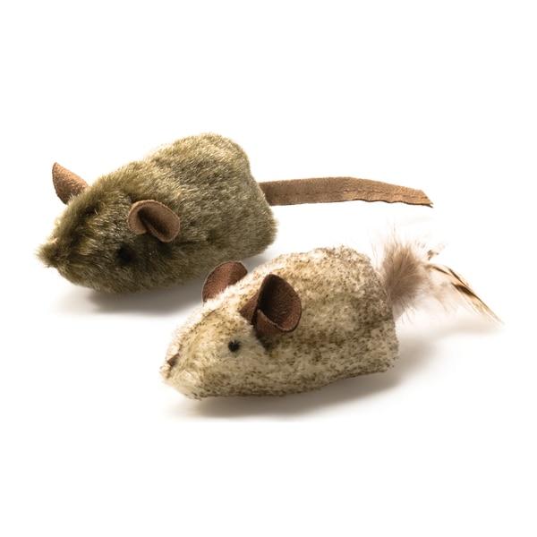 Pet Zone Twice The Mice Cat Toys