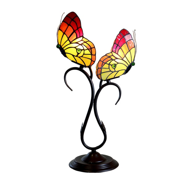 Papilly 2-light Butterfly Table Lamp