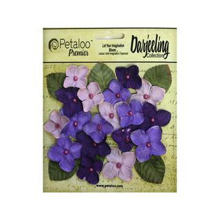 Petaloo Darjeeling Hydrangeas Purple