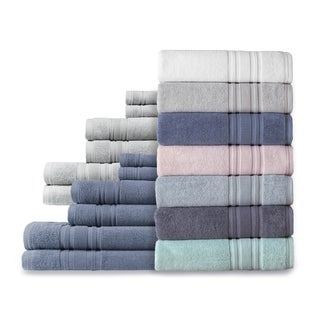 Link to Luxury Hotel Cotton Turkish Towel Collection (Washcloth Set) Similar Items in Towels