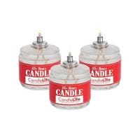Candlelife 115-hour Long Lasting Burning Time Smoke/Odor-free Emergency Survival Candles